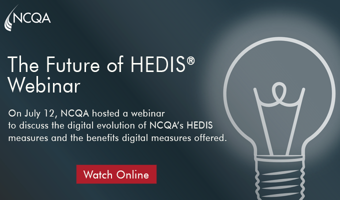 HEDIS Measures and Technical Resources - NCQA